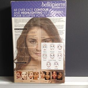 bellapierre Makeup - All Over Face Contour and Highlighting Kit